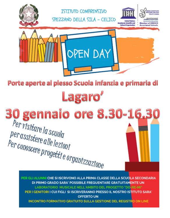 Open day Lagaro